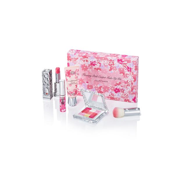JILL STUART flowery pink carpet make up kit